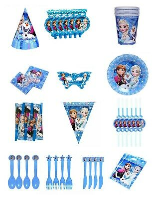 AU6.95 • Buy Disney Frozen Theme Birthday Party Balloons Tableware Decoration Game Supplies