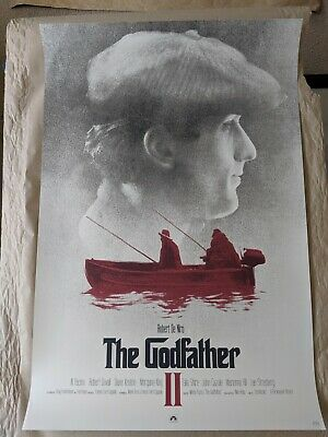 $ CDN430.84 • Buy Godfather 3-print Set By Greg Ruth - 24 X36  Screen Print Movie Posters