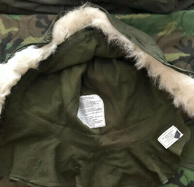 $22 • Buy OG-107 Extreme Cold Weather Hood W/ Synthetic Fur Ruff M-51 Fishtail M-65 Parka