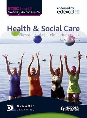 £13.99 • Buy BTEC Level 2 First Health And Social Care By Jo Irvine Paperback Book The Cheap