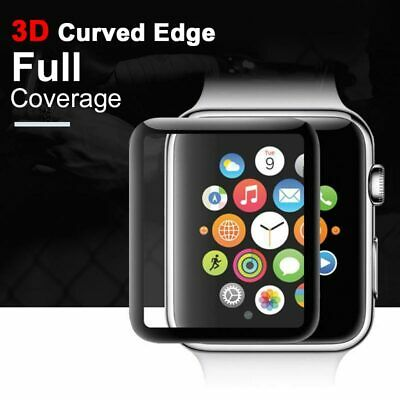 $ CDN2.13 • Buy For Apple Watch Series 4/5 40mm 44mm Cases 3D Tempered Glass Screen Protector
