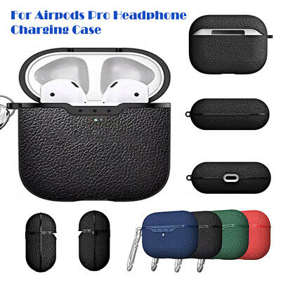 $ CDN11.89 • Buy For Airpods Pro Headphone Leather Earphone Protector Case Cover Storage Bag Box