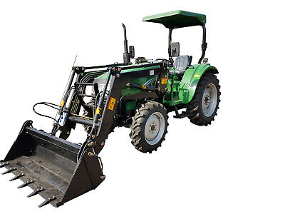 AU24090 • Buy AgKing AK404 40hp Tractor For Sale - 2020 Model With 5ft Disc Plate Slasher