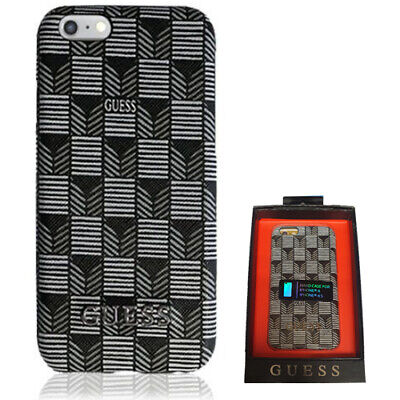 Guess Jet Set Collection Hard Case Cover For Apple IPhone 6 / 6s  4.7  Black • 9.99£