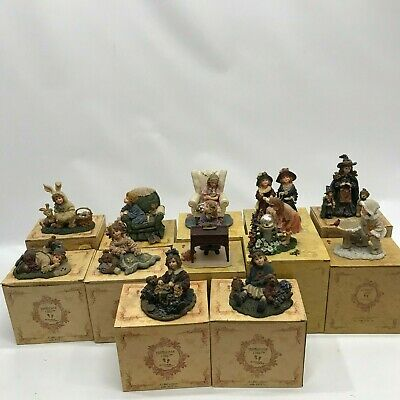 $149.99 • Buy Yesterday's Child Dollstone Collection Boyds Lot Of 12 Figurines