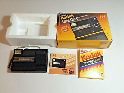 $ CDN19.99 • Buy Vintage Kodak Tele Disc Camera Outfit In Box With Unopened Kodacolor Gold Film