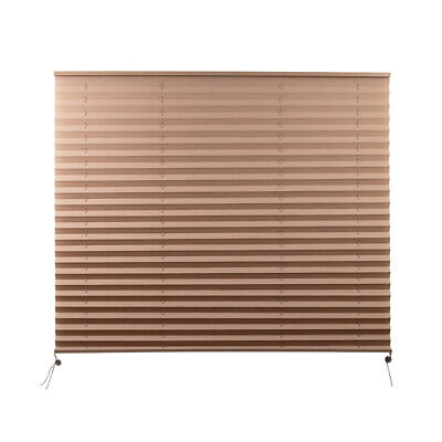 $39 • Buy Camper Comfort 44  X 38  Cappuccino RV Pleated Shade  | New Camper Window Shade
