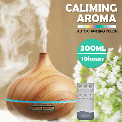 AU25.99 • Buy Ultrasonic Essential Oil Diffuser LED Mist Humidifier Purifier Aromatherapy