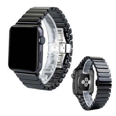 $ CDN23.67 • Buy For Apple Watch IWatch Series 1 2 3 4 Ceramic Watch Band Bracelet Bands Strap