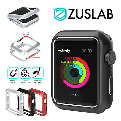 AU9.99 • Buy For Apple Watch IWatch Case SE 2 3 4 5 6 38/40/42/44mm FULL Magnetic Metal Cover