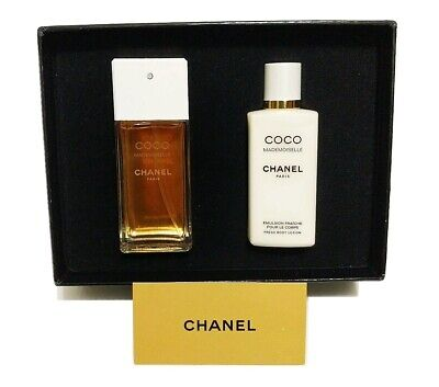 CHANEL Coco Mademoiselle Gift Set Eau De Toilette And Body Lotion New In Box • 98.99$
