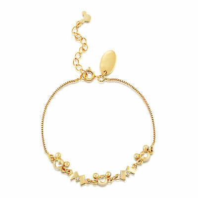 £27 • Buy Disney Couture Kingdom M For Mickey Mouse Gold-Plated Bracelet