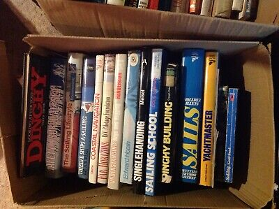 £25 • Buy Collection Of 17 Sailing / Yachting Books Including RYA, Hardback / Paperback
