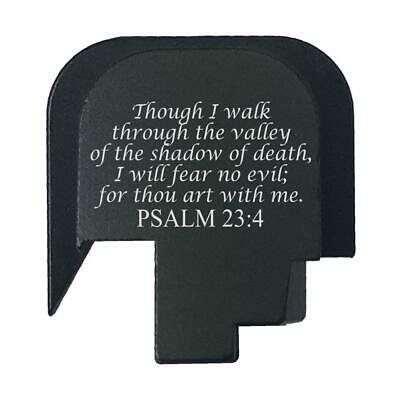 $14.99 • Buy Rear Slide Gun Back Butt Plate Cover For Smith Wesson M&P45 Shield - Psalm 23:4