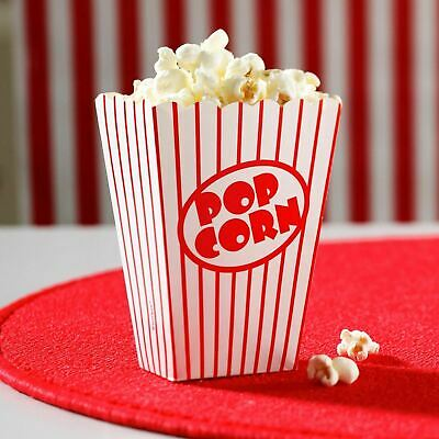Popcorn Boxes Movie Hollywood Birthday Party Cinema Treat Paper Bags Sealed Pack • 0.99£