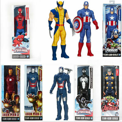 £12.99 • Buy 12  Avengers Figures Black Panther Thanos Hulk Thor Captain And All Others