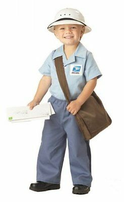 $26.50 • Buy California Costumes US Mail Carrier Mr Postman Toddler Halloween Costume 00044