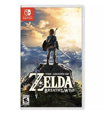 The Legend Of Zelda: Breath Of The Wild Standard Edition - Nintendo Switch • 54.99$