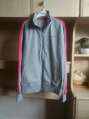 Women's Nike Track Top UK Size Large Good Condition • 14.50£