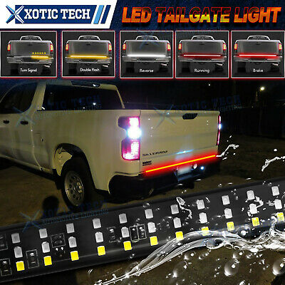 $38.88 • Buy 5 Funtions 60'' LED Strip Tailgate Light Bar For Chevy Silverado 1500 2500 3500