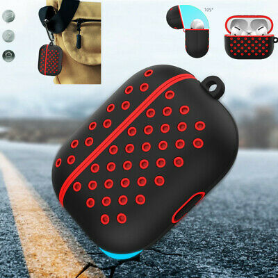 $ CDN6.32 • Buy Honeycomb Silicone Soft Case Cover Earphone Box Protector For Apple AirPods Pro