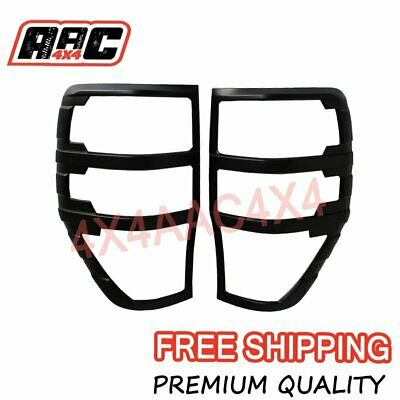 AU35.70 • Buy Suits Ford Ranger PX PX2 PX3 Matt Black Tail Light Cover Protector 2012-2019