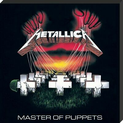 Metallica Canvas Print Master Of Puppets Classic Album Cover Canvas 40x40x2.5cm • 12.25£