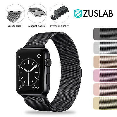 AU9.99 • Buy For Apple Watch IWatch Band Series 6 5 4 3 2 1 SE Magnetic Stainless Steel Strap