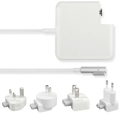 $25.74 • Buy 60W L-Tip Charger Replacement Adapter +EU US UK AU Plug For Mac Book Pro 13 Inch