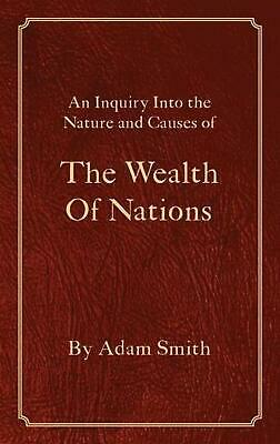 AU48.85 • Buy The Wealth Of Nations By Adam Smith (English) Hardcover Book Free Shipping!
