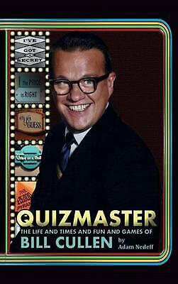 AU92.77 • Buy Quizmaster: The Life & Times & Fun & Games Of Bill Cullen (Hardback) By Adam Ned