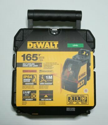 $129.99 • Buy DEWALT DW088K Line Laser, Self-Leveling, Cross Line Red Laser Beam 165' Range