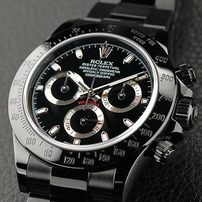 $ CDN33513.77 • Buy Rolex Daytona Black PVD/DLC Coated Stainless Steel 40mm Men's Watch 116523