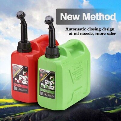 $ CDN48.32 • Buy 5 Gallon Flow Control Gas Container Can Red 5L Fuel Tank Petro LGasoline Diesel