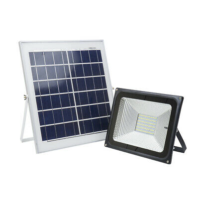 Reflector LED 50W PNI GreenHouse WS55 With Solar Panel And Battery • 58.99£