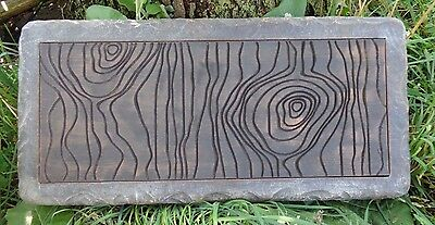 £100.91 • Buy Concrete Log Bench Mold  Knotted Wood Design  31  X 14  X 2.5  Thick
