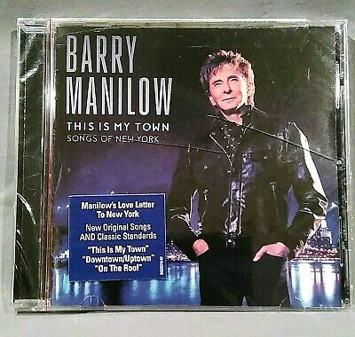 BARRY MANILOW This Is My Town CD Songs Of New York NEW Sealed 2017 • 8.29£