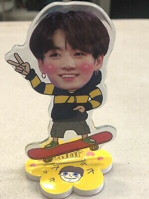 $9.88 • Buy BTS JungKook Standing Doll And Key Chain  Made In Korea Free Shipping