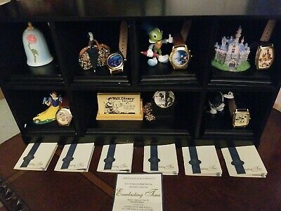 $274.95 • Buy Disney Everlasting Time Club Watch Set & Display - Fossil Limited Edition