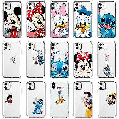 AU5.77 • Buy Disney Cartoon Mickey Mouse Stitch Soft TPU Case Cover For IPhone XR 11 Pro Max