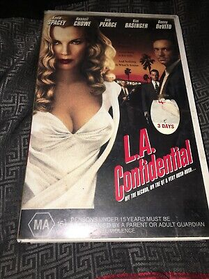AU15 • Buy L.a Confidential - Kevin Spacey, Russell Crowe -  Vhs Video