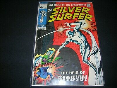 Silver Surfer #7 1969 Marvel Comic In Beautiful Fine Grade, Off White Pages Nice • 12.99$
