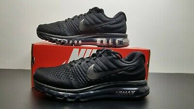 $119.95 • Buy Nike Air Max 2017 Men's Multi-SIZE 849559-004 Triple Black/Black Sneakers