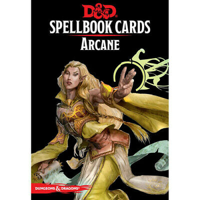 AU24.22 • Buy D&D Arcane Spell Cards GF9 V3 5th Ed Dungeons & Dragons Gale Force Nine 9