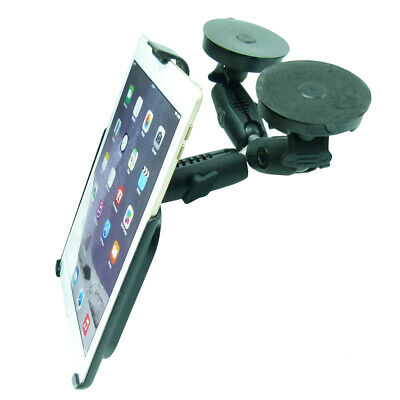 Dedicated Double Heavy Machinery Windshield Suction Mount Fits IPad 6th Gen • 77.99£
