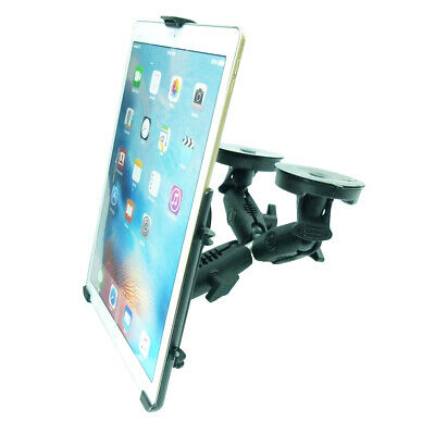 Dedicated Double Heavy Machinery Windshield Suction Mount For IPad PRO 12.9 • 86.99£
