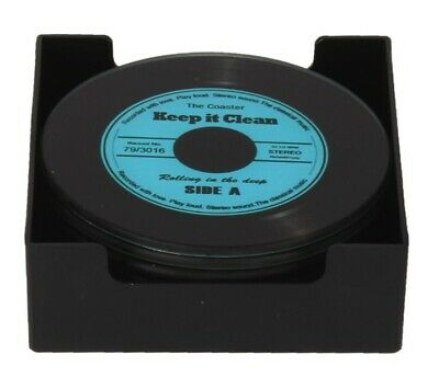 Musicology Vinyl Record Coasters - Set Of 6 • 8.49£