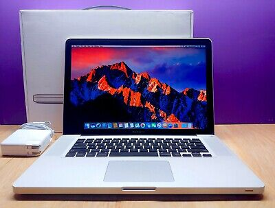 $729 • Buy Macbook Pro 15.4  / Huge 2tb Ssd Hybird / 16gb / Quad Core I7 2.9ghz Osx-2018