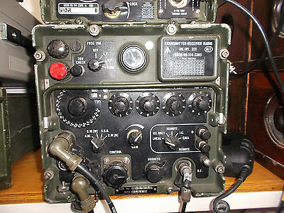 $1111.83 • Buy Clansman Military Hf Transceiver Vrc 321 Tested Very Good Working Condition
