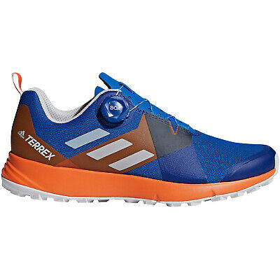 AU56.95 • Buy Adidas Performance Terrex Two BOA Lace Up Trail Running Sports Shoe - Blue -13.5